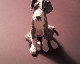 Custom Pet Sculpture Miniatures One Of A Kind Pet Portrait Dog Figurine Pet Memorial