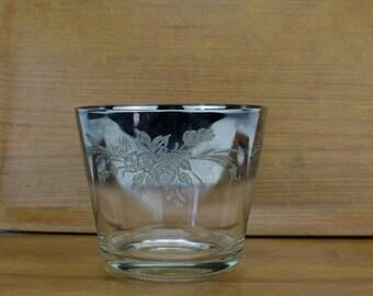 Silver Fade Ice Bucket, Silver Ice Bucket, Dorothy Thorpe Style Ice Bucket