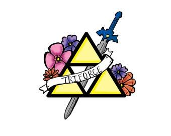 Triforce Pin