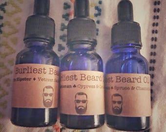 Burliest Beard Oil