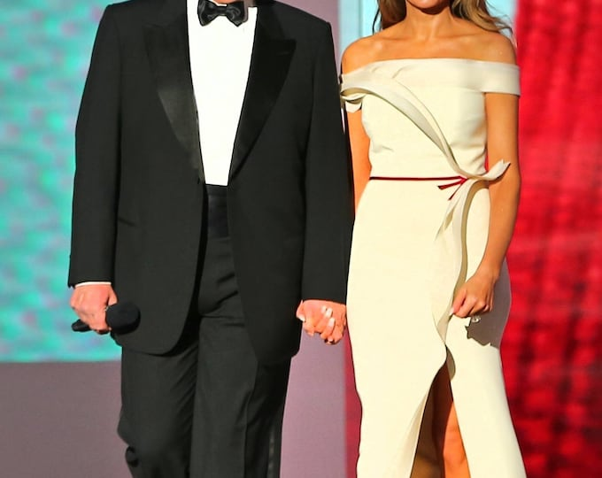 President Donald Trump & First Lady Melania Trump Arrive at the Liberty Ball - 5X7, 8X10 or 11X14 Photo (ZY-754)