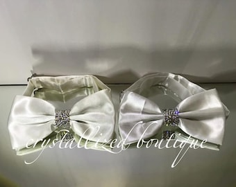 Bow Tie with Swarovski Elements