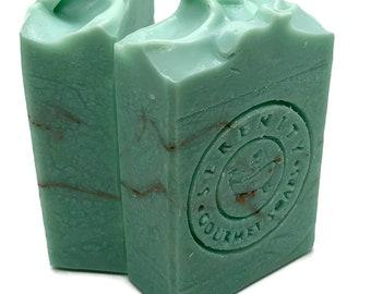 Turquois Vegan Handmade Bath Soap Bar