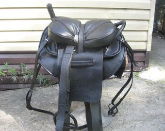Trick Riding Horse Saddle, handmade