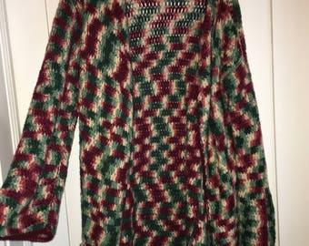 Knit Cardigan Sweater