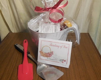 Batter Bowl Breakfast Basket Gift Box Pancake Breakfast