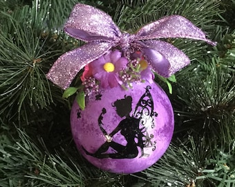 Personalized Fairy Christmas Ornament