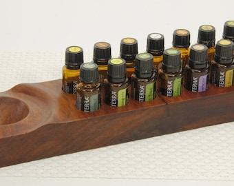Essential oil storage essential oil holder essential oils doterra oil organizer aromatherapy oil display oil holder young living oil holder