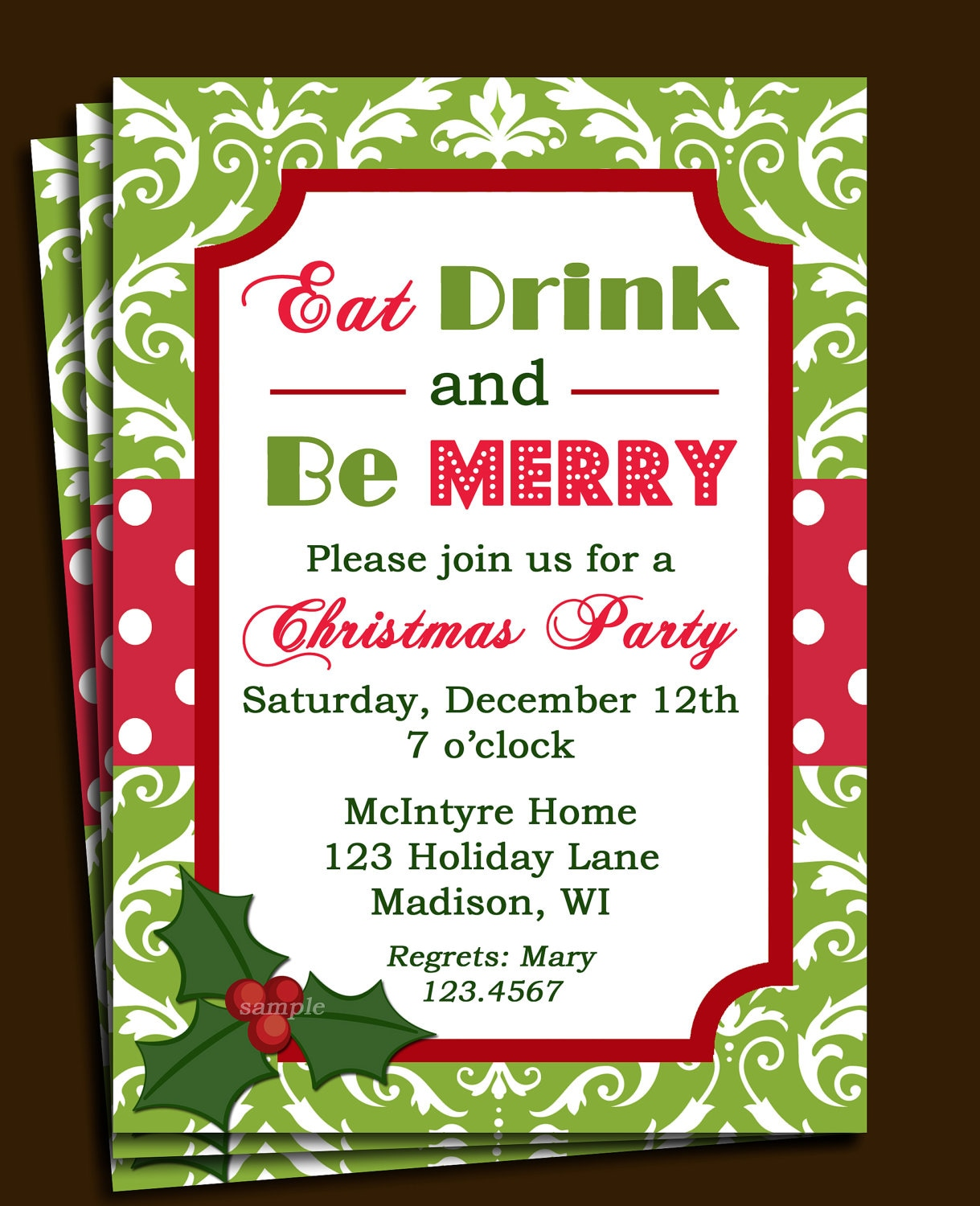 Nice Christmas Party Flyer Ideas Part - 5: Company Christmas Party Invitation Templates - Endo.re-enhance-dental.co