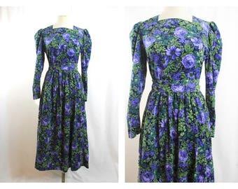 Laura Ashley Cotton Needle Cord Dress