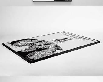 Nightmare Before Christmas Framed Print