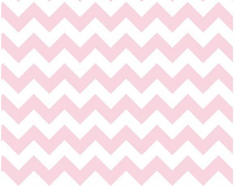 Small Chevron Baby Pink by Riley Blake Designs Fat Quarter Cut