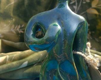 Earthy Green Goddess