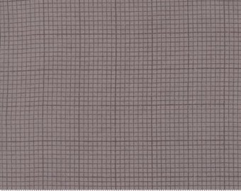 Compositions by Basicgrey for Moda - Grid - Stone - 1/2 Yard Cotton Quilt Fabric 117