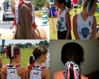 Soccer/Lax/Sports Pony O's - Custom make your own Colors Slide threw Pics