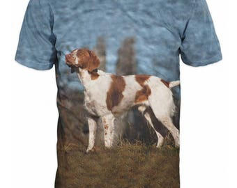 Hunting Dog T-shirt 3D Graphic Tee