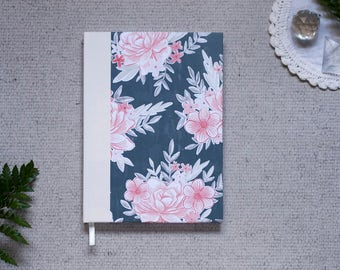 Floral Hardcover Notebook in A5
