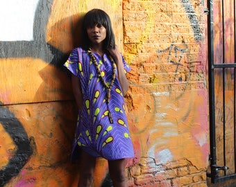African Print Dress - African Clothing - African Shift Dress - Festival Dress -Ankara Dress - African Dress -Summer Outfit - African Fashion