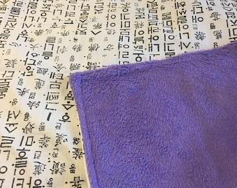 Korean Hangul Blanket