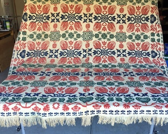Hand Loomed Coverlet from 1852