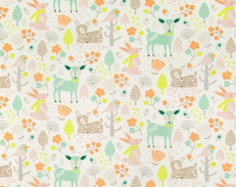 Forest Whisper Animals Fitted Crib/Toddler Sheet