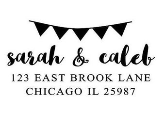 Banner Return Address Stamp