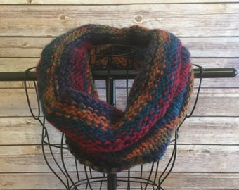Soft and Cozy Hand-knit Cowl