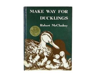 Make Way For Ducklings ~ Signed by Robert McCloskey ~ Caldecott Medal Winner