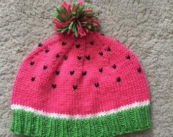 Watermelon Beanie