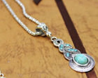 Turquoise Waterdrop Necklace