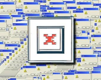 404 IMAGE NOT FOUND enamel lapel pin