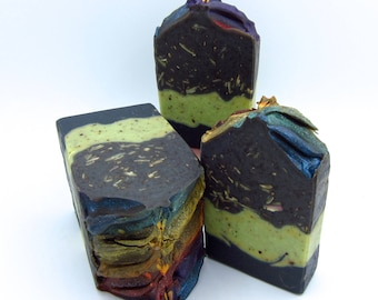 Northern Lights charcoal soap