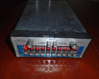 Vintage regency scanner. Scanner. Steampunk. Up cycle. electronic parts. Vintage electronic parts.