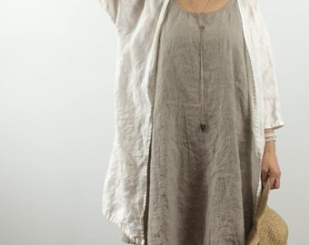 Linen Cardigan / Sweater
