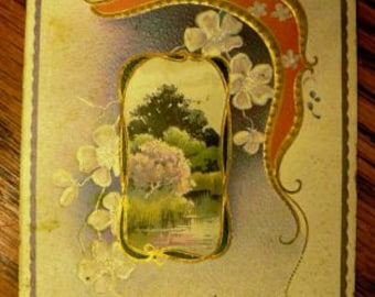 vintage postcards ... GOLDEN DAYS POSTCARD stamped 1910 ...