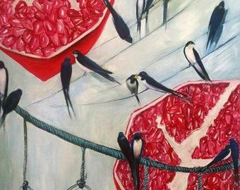 Custom Oil painting on canvas
