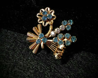 Vintage Star Spangled Brooch