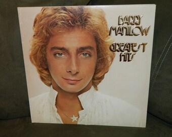 Barry Manilow- Greatest Hits Double Album- 1978  2 LP Set -  Vintage Vinyl Record