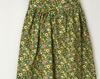 Size 3T Fun Circles Girl's Dress