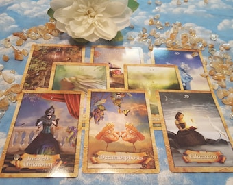 3 card spread Intuitive Reading with Claire Marie of CMK Energy