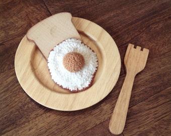 """3"""" Crocheted Egg"""
