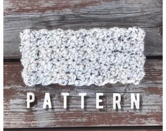 Dahlia Ear warmer/ Crochet ear warmer pattern/ Ear warmer pattern