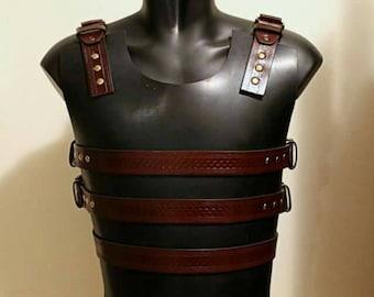 Fantasy Medieval breast armor Cosplay