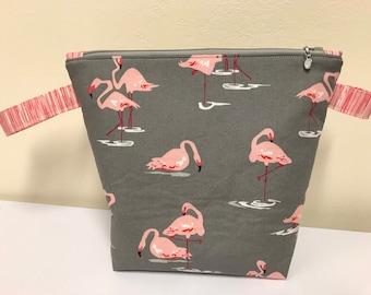 Flamingo medium bag