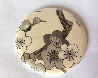 Mirror Japanese sakura grey / taupe