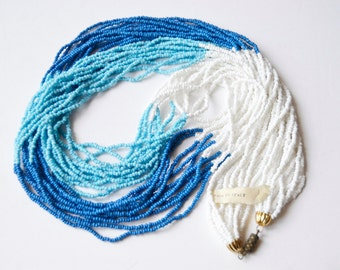 Summer beaded necklace