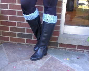 Hand Crocheted Boot Cuffs