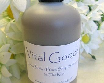 Dreadlock Shampoo African Black Soap Shea Butter Shampoo In The Raw 12oz