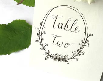 Handwritten Table Names, Table Number cards, wedding table numbers, vintage wedding ideas, Place Cards, Table Name Card, Handmade wedding