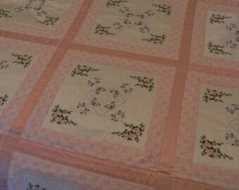English Rose Quilt